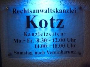 Rechtsanwaltskanzlei Kotz in Kreuztal bei Siegen